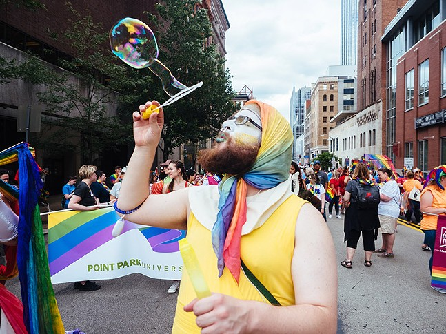 Delta Foundation's 2019 Pittsburgh Pride in the Streets - CP PHOTO: JARED MURPHY