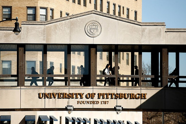 The University of Pittsburgh campus - CP PHOTO: JARED WICKERHAM