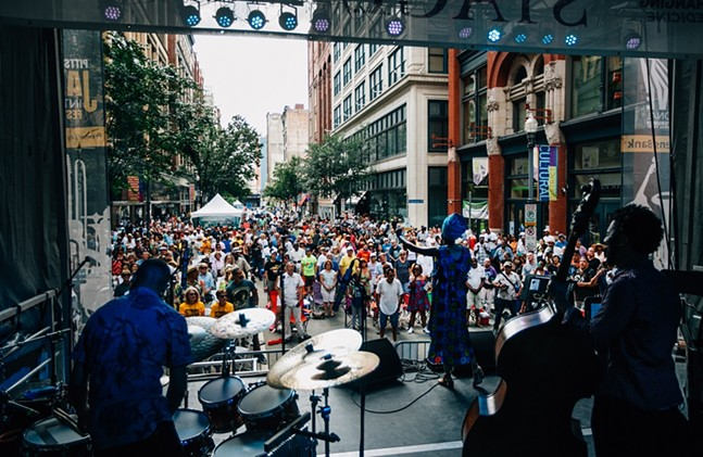 2017 Pittsburgh JazzLive International Festival - PHOTO BY JOEY KENNEDY/COURTESY OF THE PITTSBURGH CULTURAL TRUST