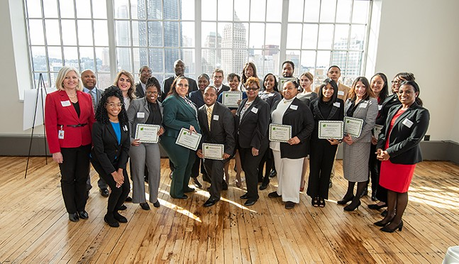 Partner4Work BankWork$ training program graduates - PHOTO: PARTNER4WORK