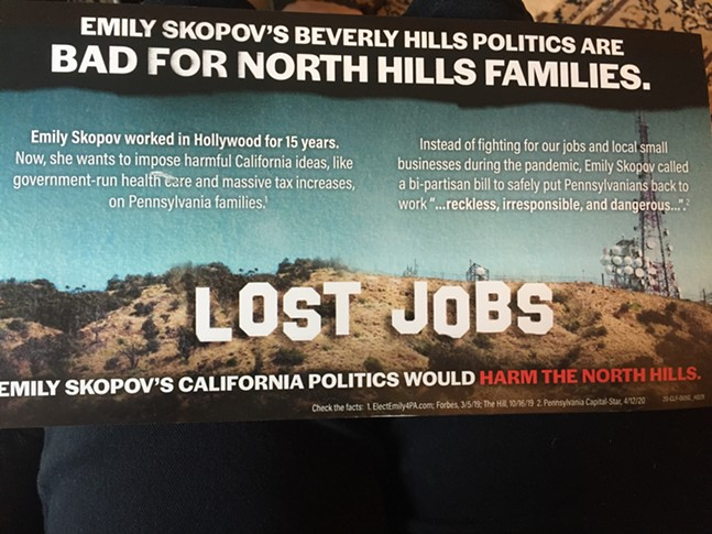 Mailer sent out to North Hills voters