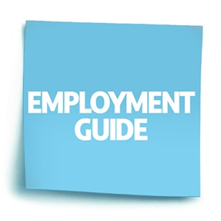 Clicking this image on any of our Employment Guide articles will bring you back to this page, where you can access our entire Employment Guide, linked at the bottom of this page