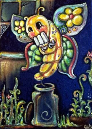 CoronaCrafted painting by Voodoo Velvet - VOODOO VELVET