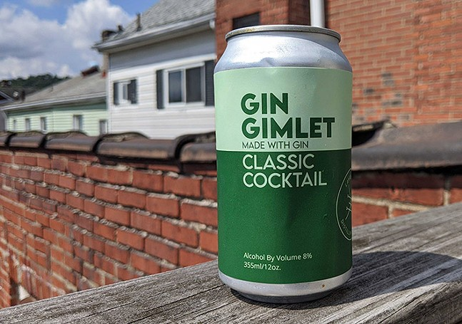 Lawrenceville Distilling Co.'s Gin Gimlet - CP PHOTO: MAGGIE WEAVER