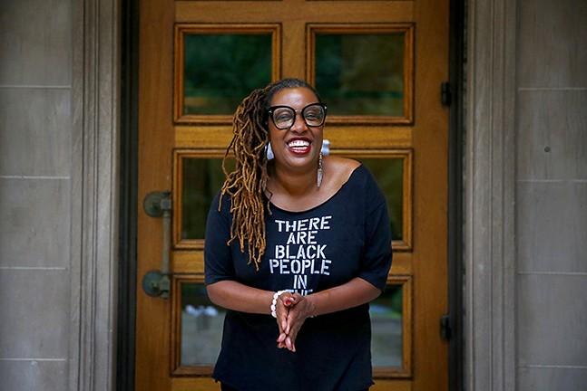 Deesha Philyaw - CP PHOTO: JARED WICKERHAM