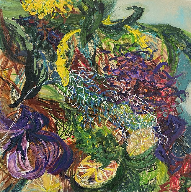 """Erin Treacy's - """"Layers of Summer Fill My Insides"""" at BoxHeart Gallery"""