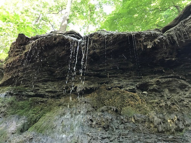 10-foot-high waterfall at Boyce Mayview Park - CP PHOTO: RYAN DETO
