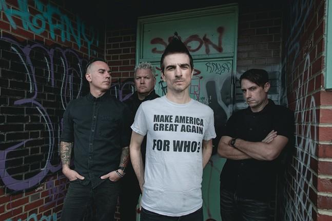 Anti-Flag - PHOTO: JOSH MASSIE