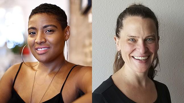 "Alexandria ""Clara Kent"" Reed (left), Autumn Marie Chilcote (right) - CP PHOTO: JARED WICKERHAM (LEFT)"