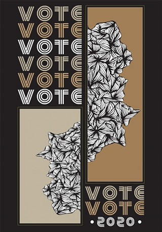 Get Out the Vote: Empowering the Women's Vote poster by atiya jones - ATIYA JONES