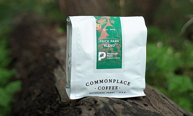 Commonplace Coffee's Frick Park Blend - PHOTO: COURTESY PITTSBURGH PARKS CONSERVANCY