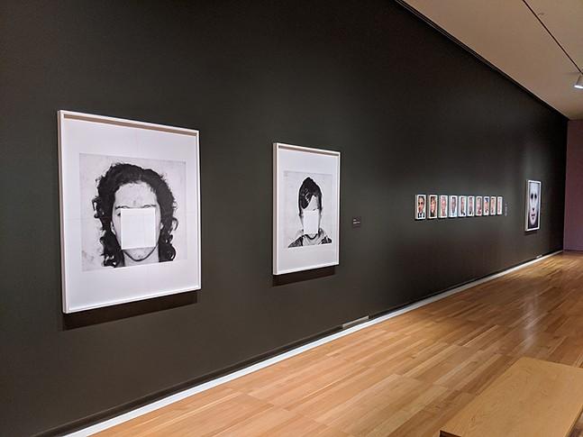 Opposing Geometries at the Carnegie Museum of Art - CP PHOTO: AMANDA WALTZ