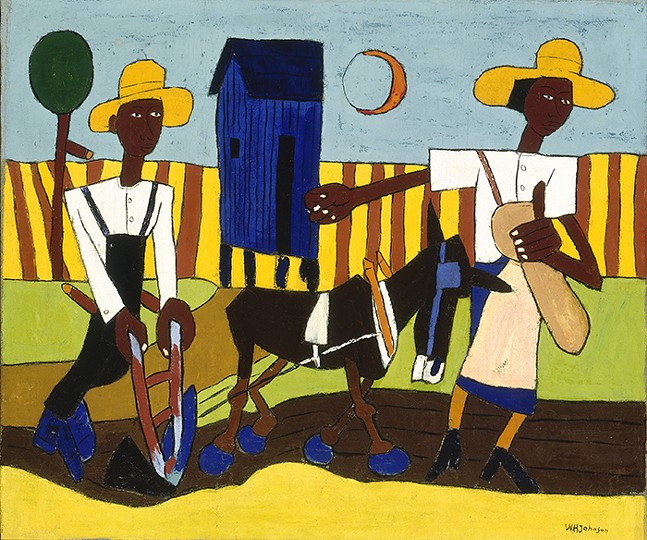Sowing by William H. Johnson - ART: SMITHSONIAN AMERICAN ART MUSEUM