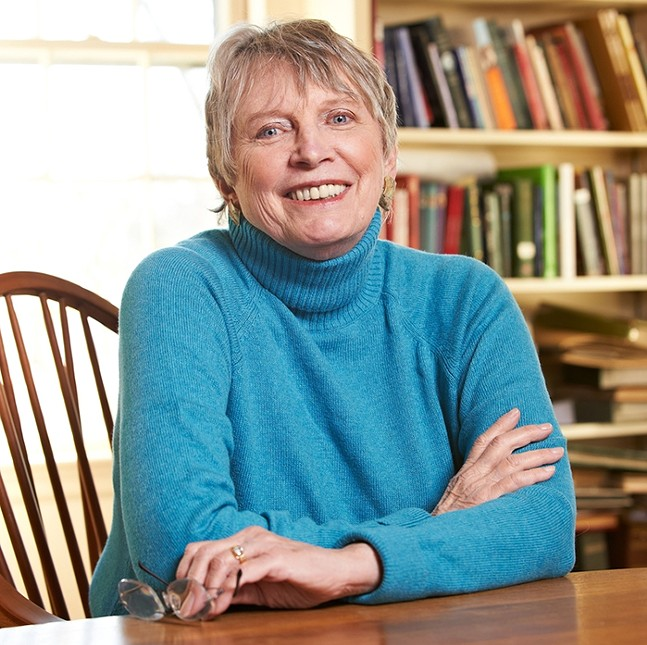 Lois Lowry - PHOTO: MATT MCKEE