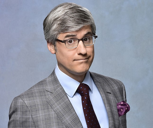 Mo Rocca - PHOTO: JOHN PAUL FILO/CBS BROADCASTING INC