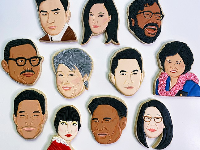 Portraits in Icing: The Intersection of Representation, Race, and Cookies  - PHOTO: JASMINE CHO