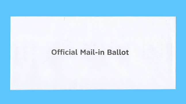 The secrecy envelope for Pennsylvania mail-in ballots - CP PHOTO: ABBIE ADAMS