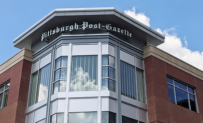 The Post-Gazette offices on Pittsburgh's North Side - CP PHOTO: LISA CUNNINGHAM