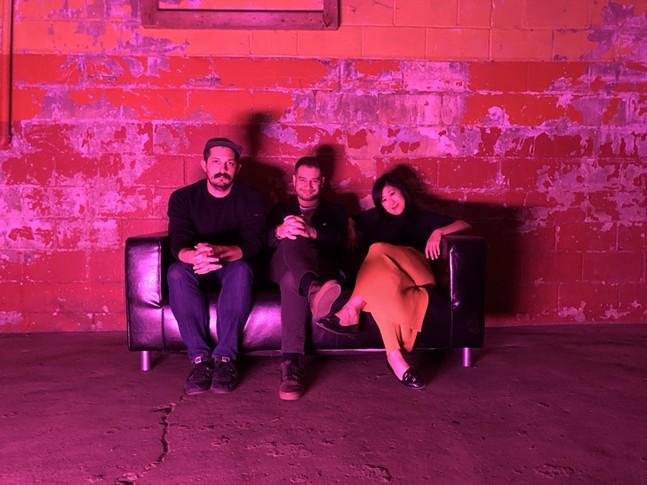 From left to right: Adam Shuck, Ricky Moslen, and Stephanie Tsong - PHOTO: MATT BARRON & JELLYFISH