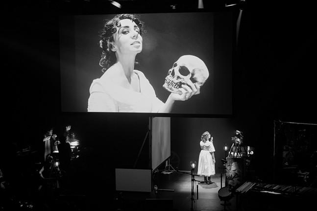 Manual Cinema's Frankenstein - PHOTO: TIFFANY BESSIRE
