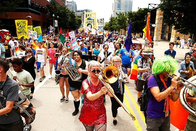 People's Pride in 2019. The celebration returns this month, with masks of course. - CP PHOTO: JARED WICKERHAM