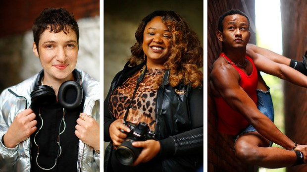 Julie Mallis, sarah huny young, and Joshua Orange - CP PHOTOS: JARED WICKERHAM