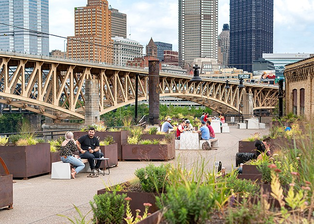 The Lagerlands Socially Distant Beer Garden at the Highline — see Sun., Oct. 18 for more information - PHOTO: NICK NARETTO