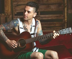 Chris Carrabba - PHOTO COURTESY OF DAVID BEAN