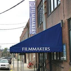 Pittsburgh Filmmakers' headquarters on Melwood Avenue, in Oakland - PHOTO BY BILL O'DRISCOLL