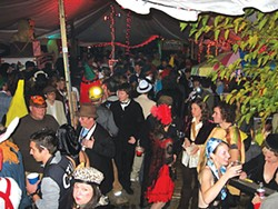 A scene from a 2008 Halloween party at The Evaline - PHOTO COURTESY OF MARCEL L. WALKER