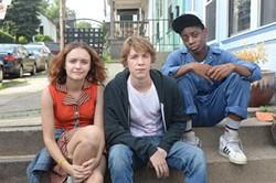 Olivia Cooke, Thomas Mann and RJ Cyler