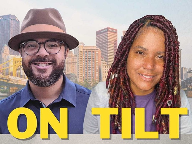 ON TILT CO-HOSTS JULIUS BOATWRIGHT AND DANNIELLE BROWN