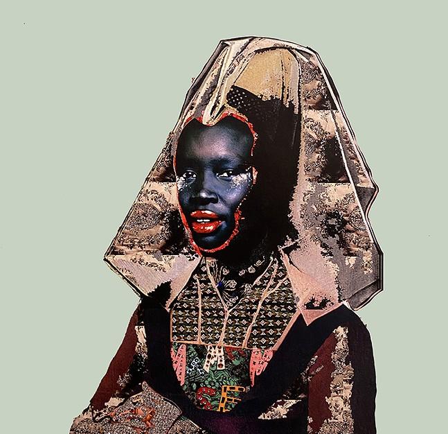 Gavin Benjamin's Heads of State at Boxheart Gallery - ARTWORK: GAVIN BENJAMIN