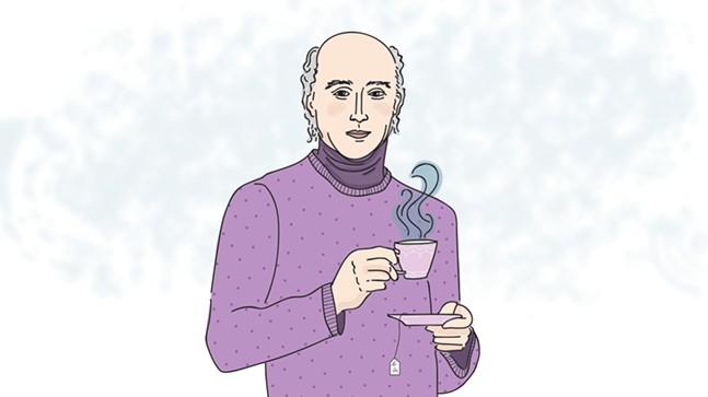 Charles Grey, 2nd Earl Grey enjoying a London Fog latte - CP ILLUSTRATION: ABBIE ADAMS