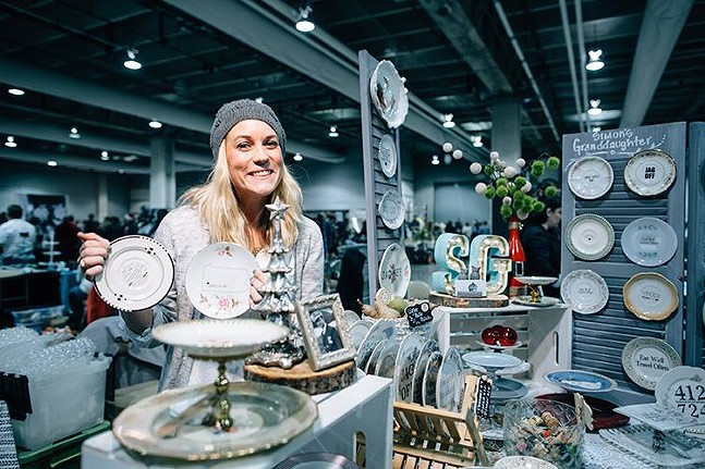 Val Snyder of Simon's Granddaughter at Handmade Arcade - PHOTO: JOEY KENNEDY