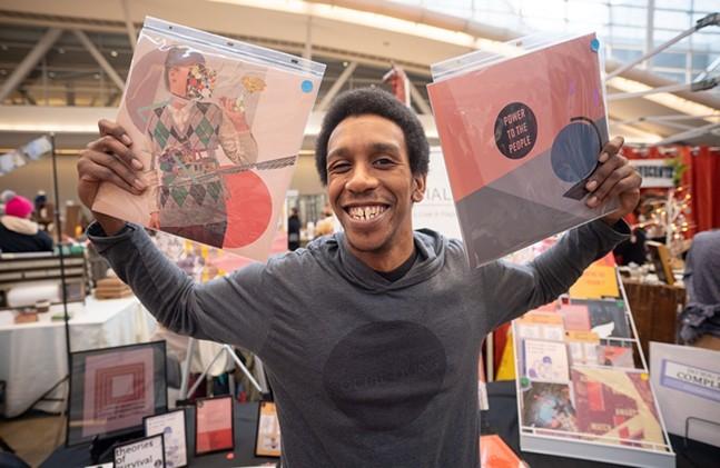 Darrin Jamal of Social Living at Handmade Arcade - PHOTO: JOEY KENNEDY