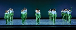 "Pittsburgh Ballet Theatre in Mark Morris' ""Sandpaper Ballet"" - PHOTO COURTESY OF RICH SOFRANKO"