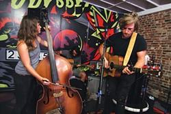 Union Rye performs at Kickback Pinball Café during RANT 2014 - PHOTO COURTESY OF HUGH TWYMAN