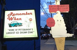 The Remember When Ice Cream - PHOTO BY AL HOFF