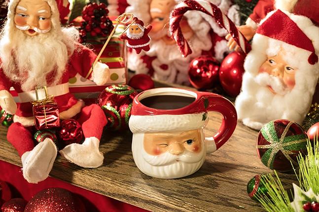 The Bad Santa cocktail at Miracle - PHOTO: MELISSA HOM