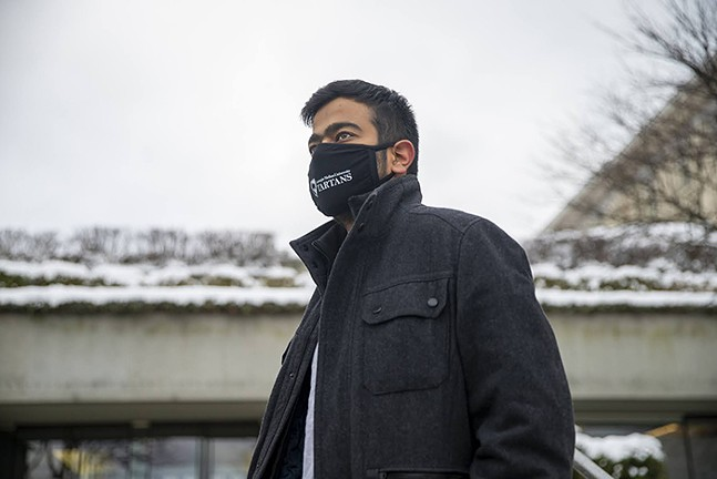 Divyansh Kaushik is a Ph.D. student at Carnegie Mellon University and vice president of external affairs in the Carnegie Mellon University Graduate Student Assembly. - PHOTO: JAY MANNING/PUBLICSOURCE