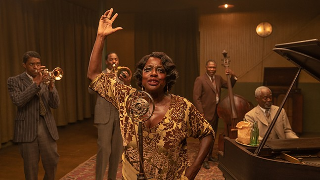 Viola Davis and Chadwick Boseman star in Ma Rainey's Black Bottom - PHOTO: DAVID LEE/NETFLIX