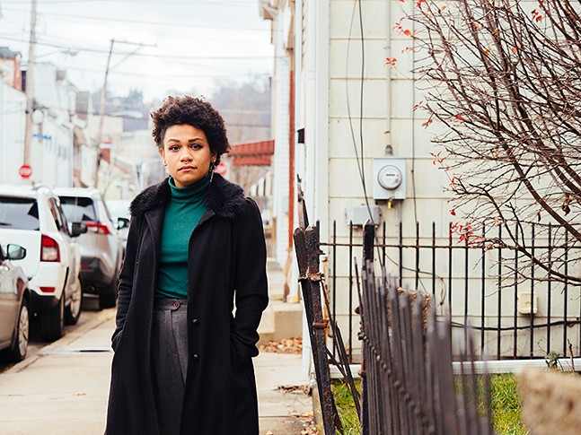 Pittsburgh activist Jalina McClarin - CP PHOTO: JARED MURPHY