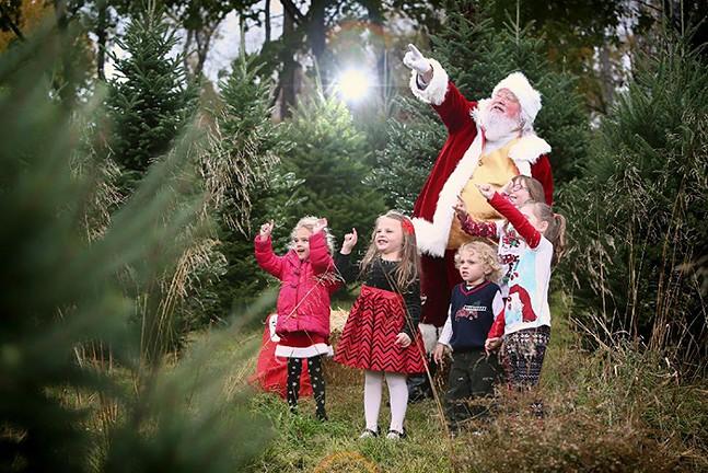 Santa performer, Lance Skapura - PHOTO: 9ORANGE PHOTOGRAPHY