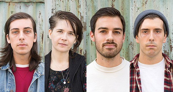 Run Forever: Tom Moran, Cassie Staub, Jeremy Sessa and Anthony Heubel - PHOTOS BY SARAH WILSON