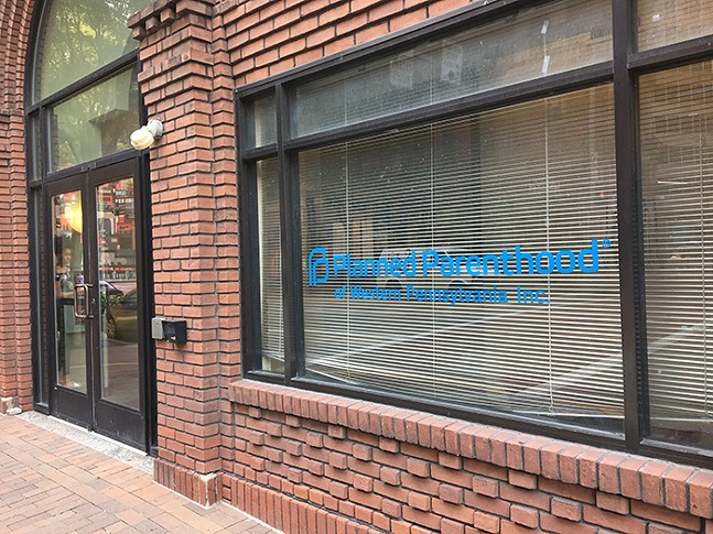 Planned Parenthood of Western Pennsylvania offices in Downtown Pittsburgh - CP PHOTO: LISA CUNNINGHAM
