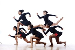 """Philadanco performs """"Enemy Behind the Gates"""" - PHOTO COURTESY OF LOIS GREENFIELD"""