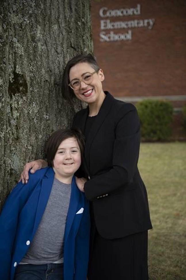 Bethani Cameron and her son. - PHOTO: CAOILINN ERTEL