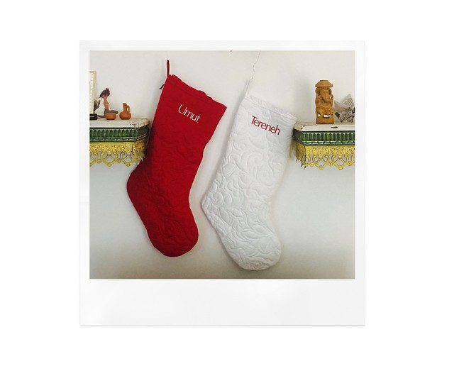 His and hers holiday stockings - CP PHOTO: TERENEH IDIA