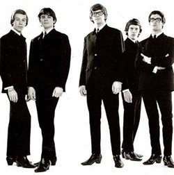The Zombies circa 1966 (Chris White, center)